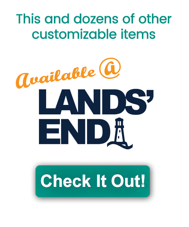 Visit Lands'End for Customized Apparel