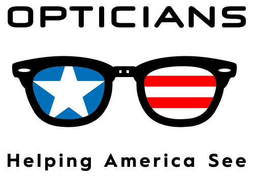 Helping America See logo (medium) for web use or transparent paper print