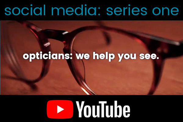 WE HELP YOU SEE video series icon