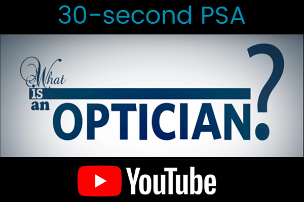 WHAT IS AN OPTICIAN? icon